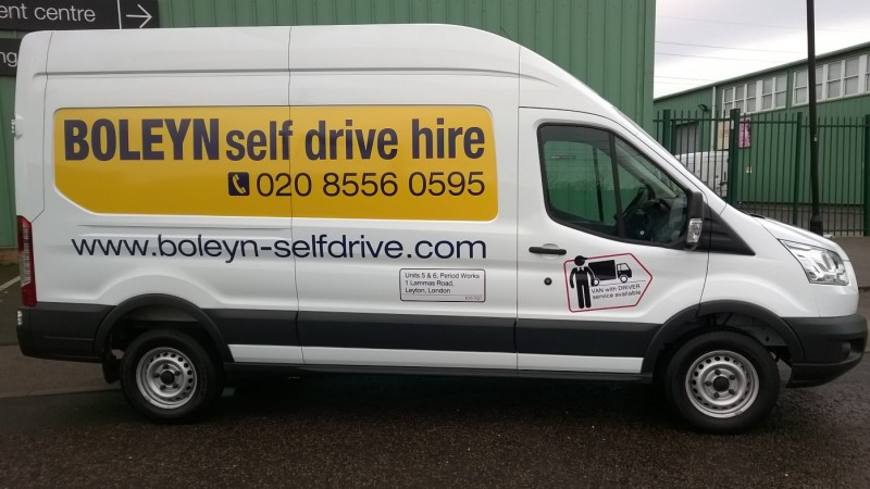 FORD Transit High Top Long Wheel Base Floor Length 3.3 long Car Hire Deals